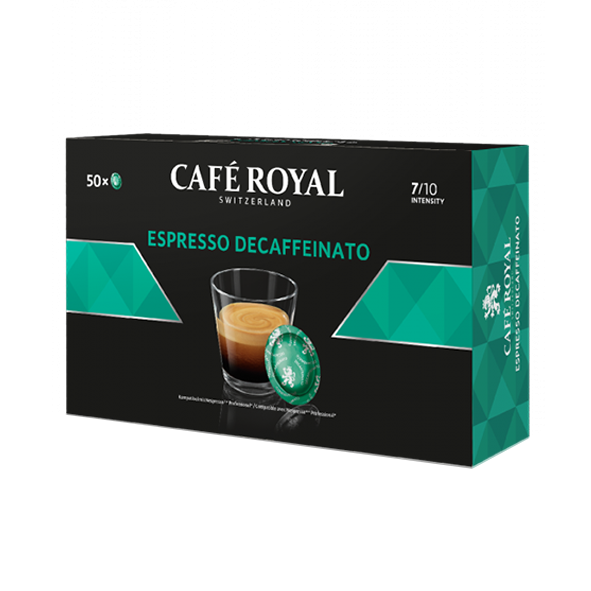 Café Royal Office Pads Espresso Decaffeinato, 50 Pads