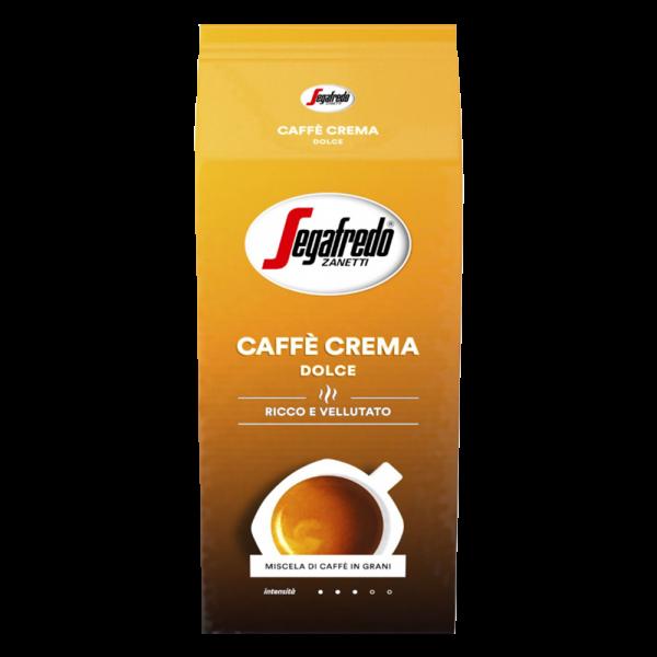 Segafredo Caffe Crema Dolce, 1000g ganze Bohne