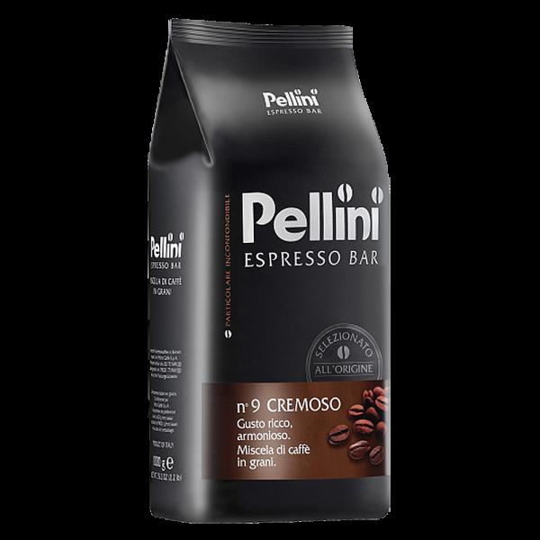 Pellini Espresso Bar n° 9 Cremoso, 1000g ganze Bohne