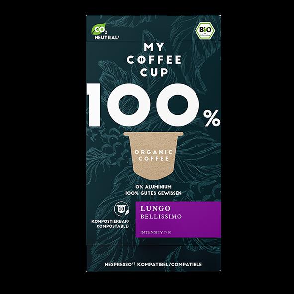 My-CoffeeCup Bio Lungo Bellissimo, 10 Kapseln