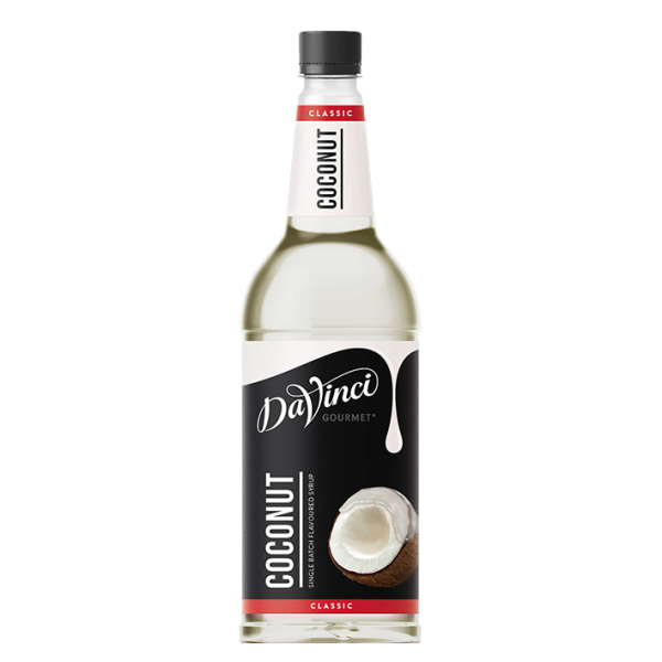 DaVinci Gourmet Sirup Classic Kokosnuss, 1,0L PET