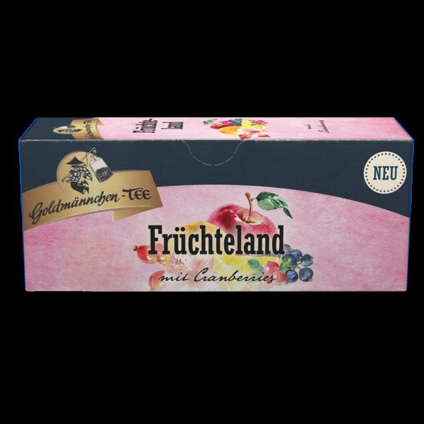 Goldmännchen-TEE Früchteland mit Cranberries