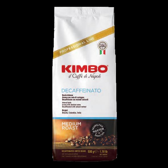 KIMBO Espresso decaffeinato, 500g