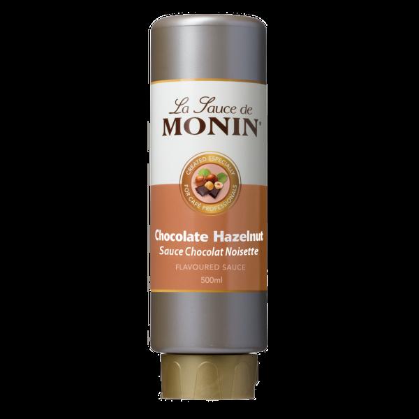 Monin Sauce Schokolade-Haselnuss, 500 ml
