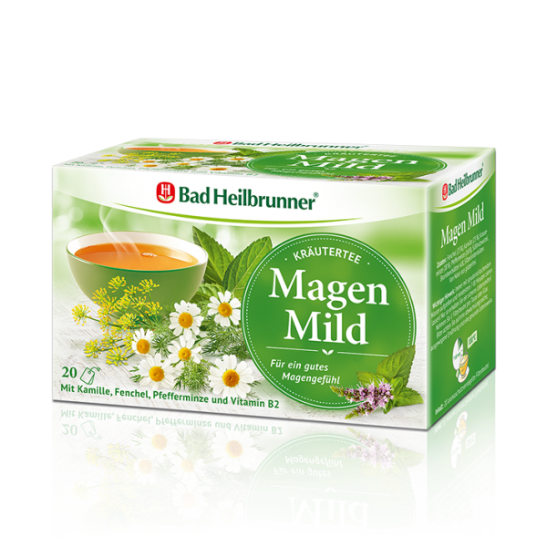 Bad Heilbrunner® Kräutertee Magen Mild