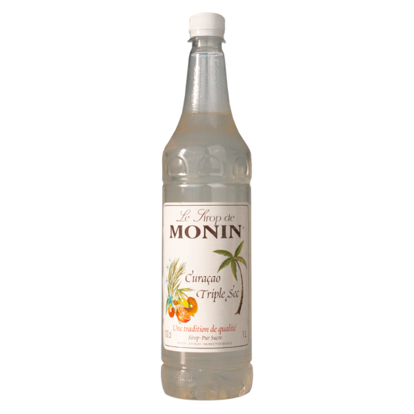 Monin Sirup Curaçao Triple Sec, 1,0L PET