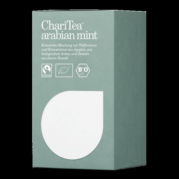 ChariTea Bio arabian mint, 20 Teebeutel