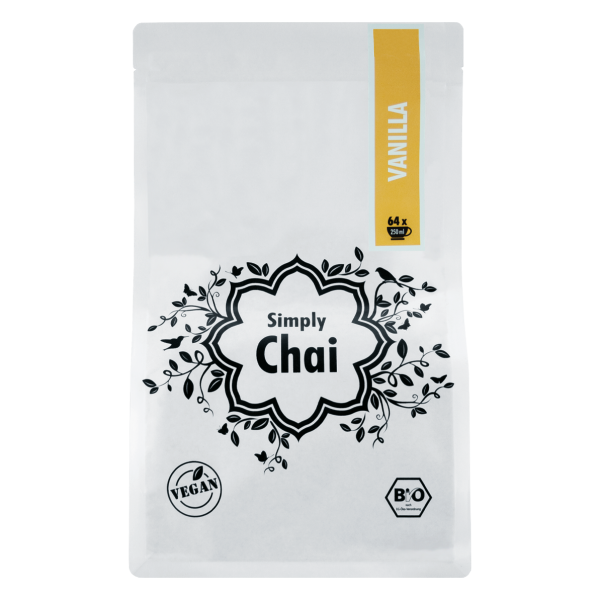 Simply Chai Bio Vanille, 1000g