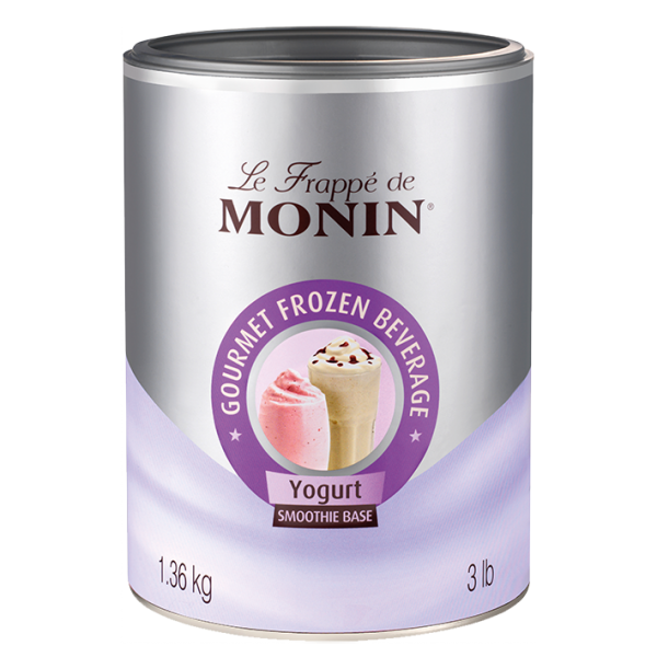 Monin Frappé Base - Yogurt, 1,36kg