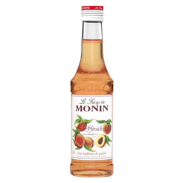 Monin Sirup Pfirsich, 0,25L