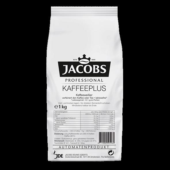 Jacobs Professional Kaffeeplus, 1kg Instant Kaffeeweisser Pflanzenbasis