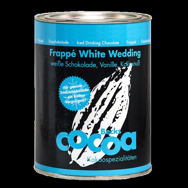 BecksCocoa Bio Frappé White Wedding, 250g Dose