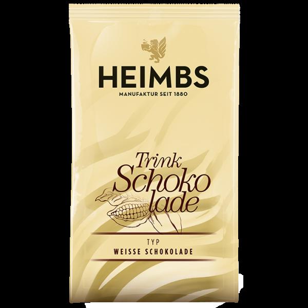 HEIMBS Trinkschokolade Weiße Schokolade, 100x 40g