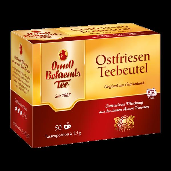 OnnO Behrends Tee Ostfriesen Teebeutel, 50 Tassenportionen