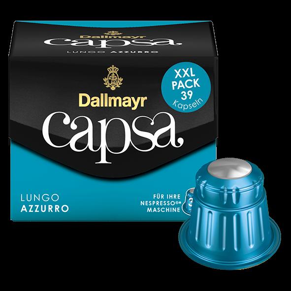 Dallmayr capsa Lungo Azzurro XXL Pack, 39 Kapseln