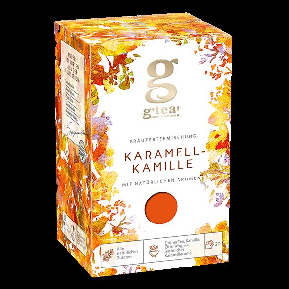 g'tea! Karamell-Kamille, 20 Aufgussbeutel