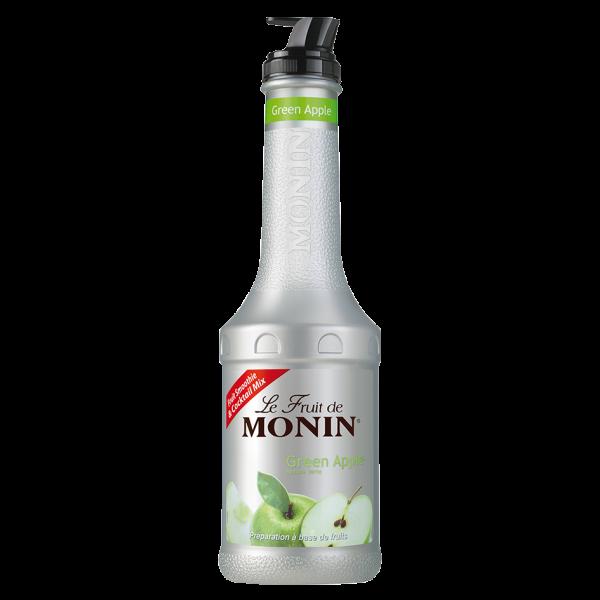 Monin Fruchtpüree Mix Grüner Apfel, 1,0 L