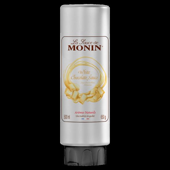 Monin Sauce Weiße Schokolade, 500 ml