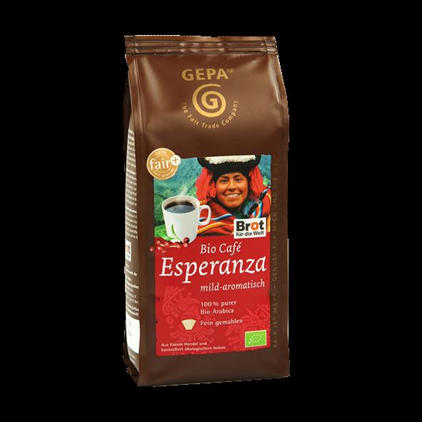 GEPA Bio Café Esperanza, gemahlen, 250g