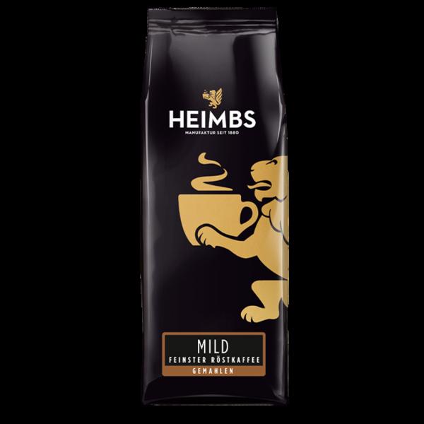 HEIMBS Mild Feinster Röstkaffee, 250g gemahlen