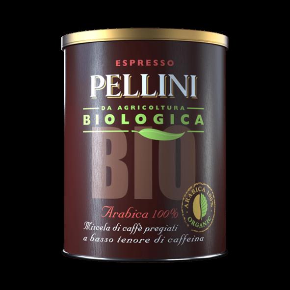 Pellini Bio Arabica 100%, 250g Dose, gemahlen