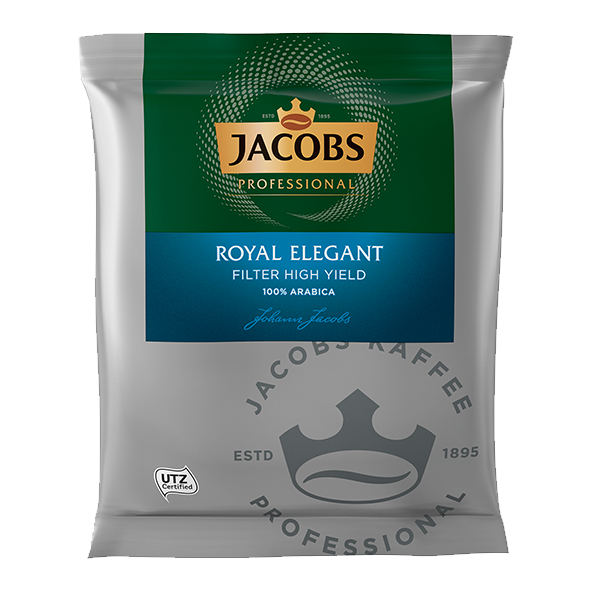 Jacobs Professional Royal Elegant Filter High Yield 80 x 60g