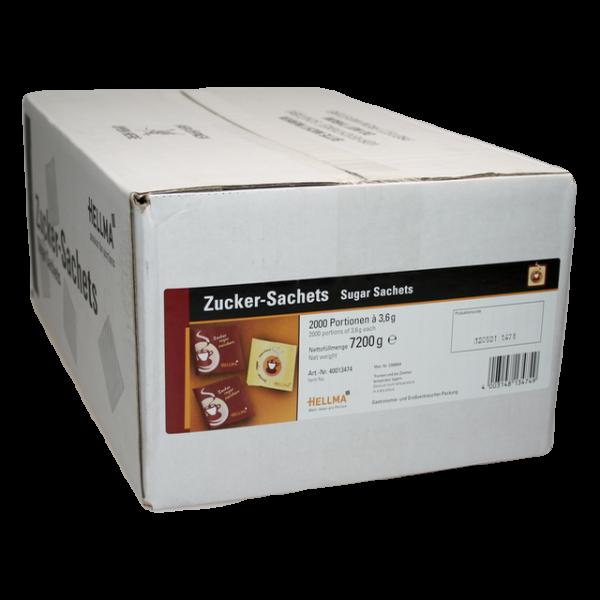 Hellma Zucker-Sachets, 2000 Portionen