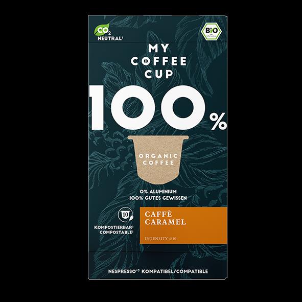 My-CoffeeCup Bio Caffé Caramel, 10 Kapseln