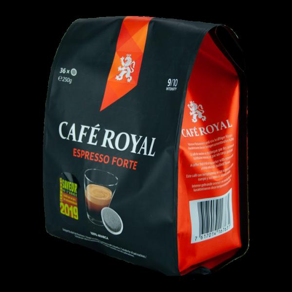 Café Royal Espresso Forte (Ristretto Strong), 36 Pads