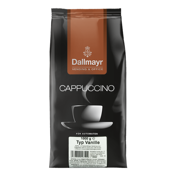 Dallmayr Cappuccino Vanille Vending & Office, 1000g