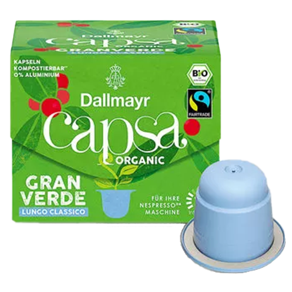 Dallmayr Capsa Bio Gran Verde Lungo Classico