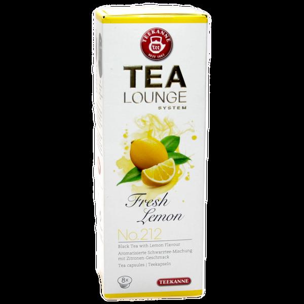 """TEALOUNGE No. 212 """"Fresh Lemon"""" von Teekanne"""