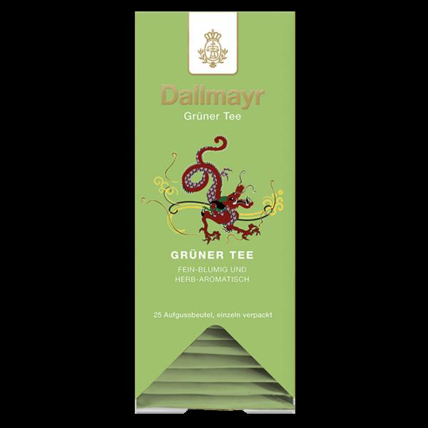 Dallmayr Grüner Tee, 25 Aufgussbeutel