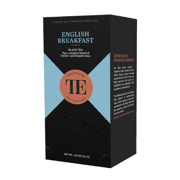 teahouse exclusives TE English Breakfast, 20 Gourmet Tea Bag