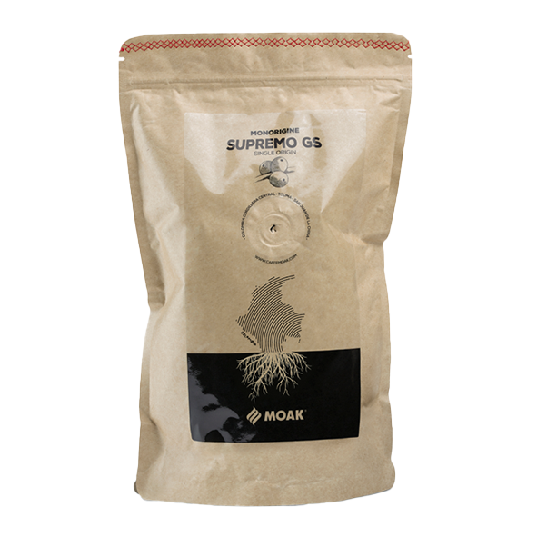 Moak Single Origin Colombia Supremo GS, ganze Bohne, 500g