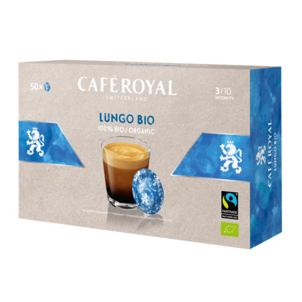 Café Royal Office Pads Bio Lungo, 50 Pads