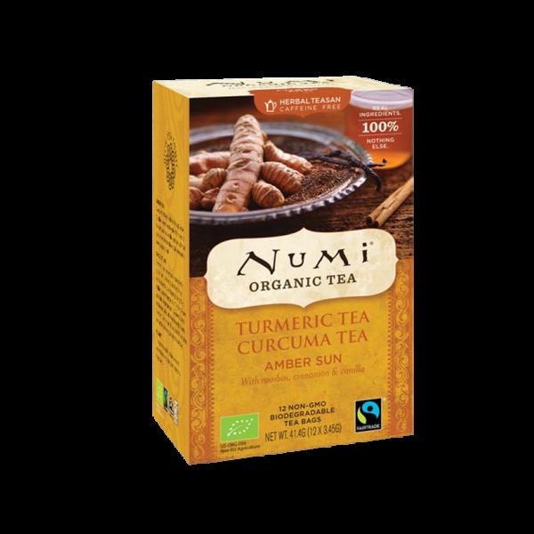 Numi Organic Tea Bio Turmeric Amber Sun