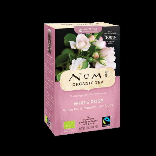 Numi Organic Tea Bio White Rose