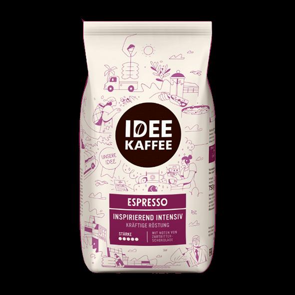 Idee Kaffee Espresso, 1000g, ganze Bohne