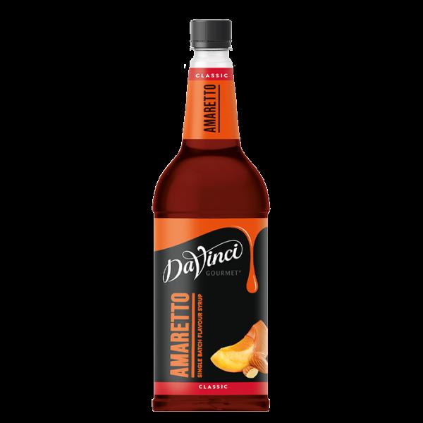 DaVinci Gourmet Sirup Classic Amaretto, 1,0L PET