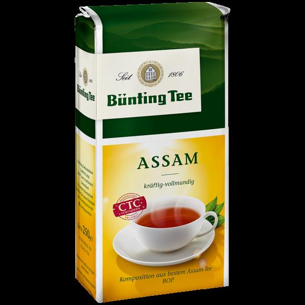 Bünting Tee Assam, 250g loser Tee