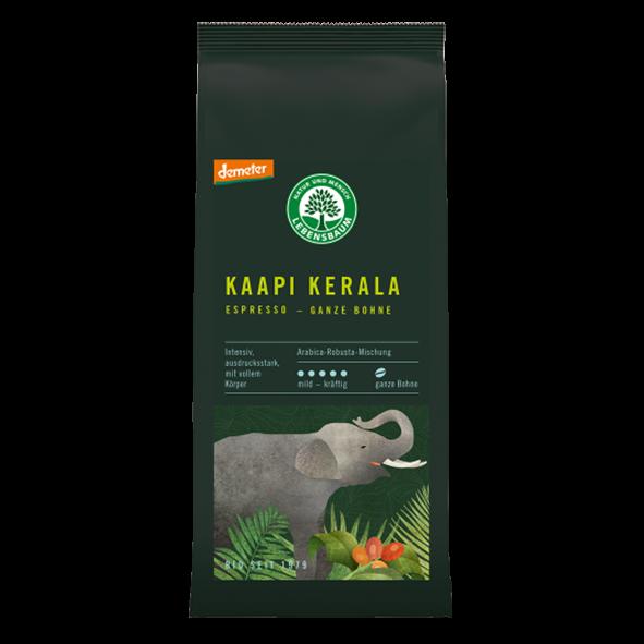 Lebensbaum Bio Kaapi Kerala 250g, ganze Bohne