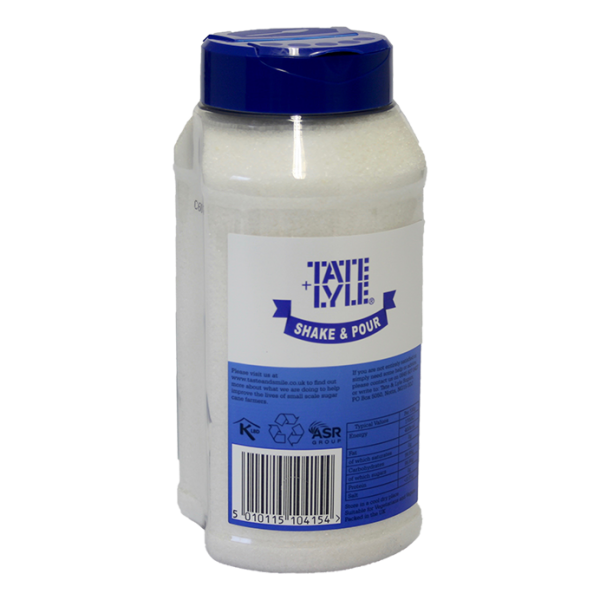 Tate + Lyle Shake & Pour Weißer Rohrzucker, 750g