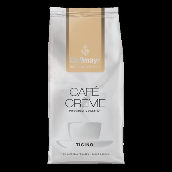 Dallmayr Café Crème Ticino Vending & Office, ganze Bohnen, 1000g