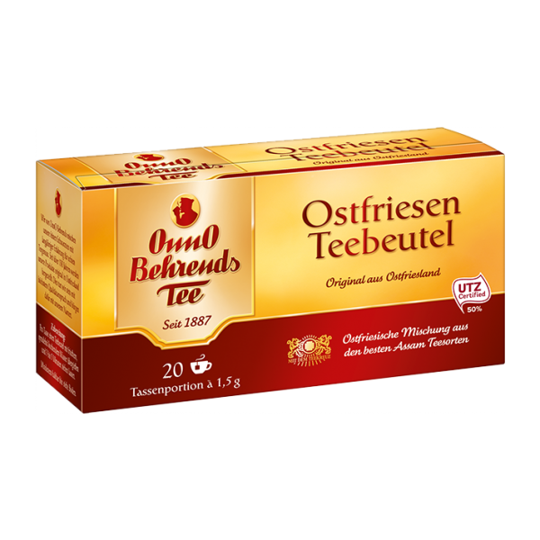 OnnO Behrends Tee Ostfriesen Teebeutel, 20 Tassenportionen