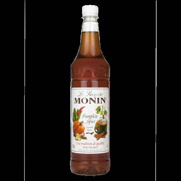 Monin Sirup Pumpkin Spice, 1,0L PET