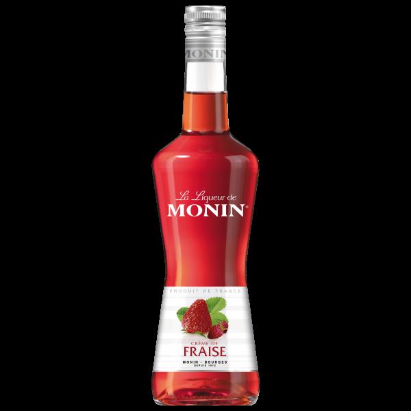 Monin Likör Erdbeere 18% Alk., 0,7L