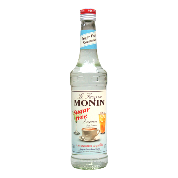 Monin Sirup Sweetener Sugar free, 0,7L