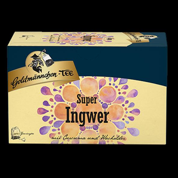 Goldmännchen-TEE Super Ingwer