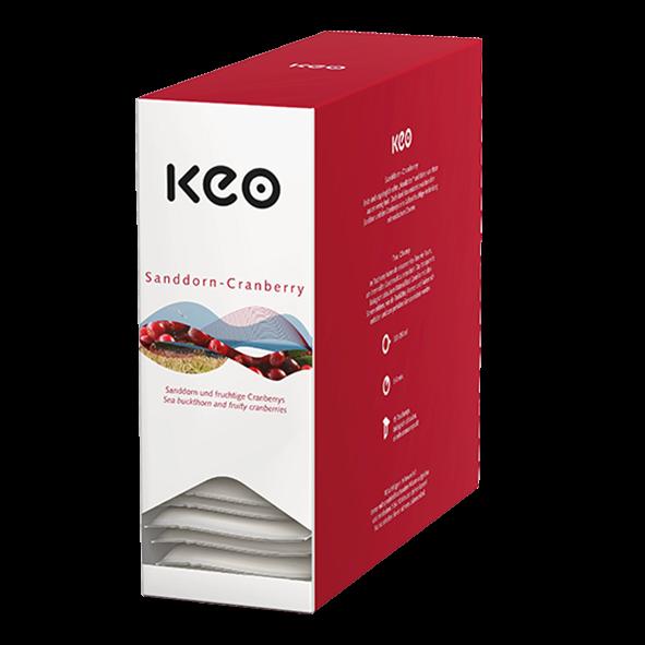 Keo Teachamp Kuvert Sanddorn-Cranberry